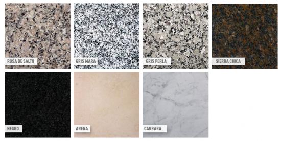 Muebles f ciles for Fotos de colores de granito