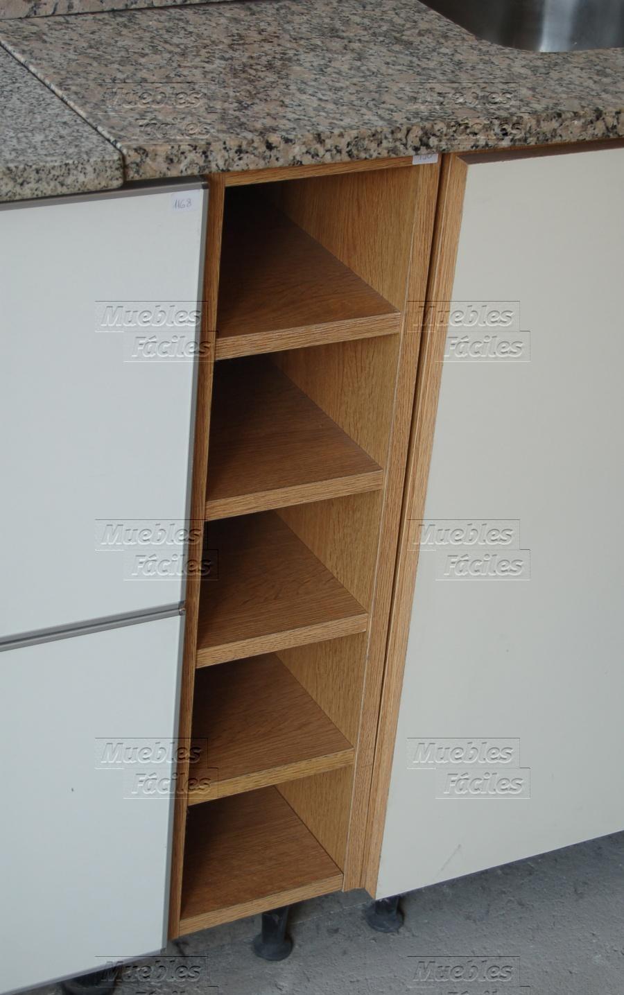 Muebles F Ciles Productos De Cocina Botellero Bajomesada 15cm # Muebles Botelleros