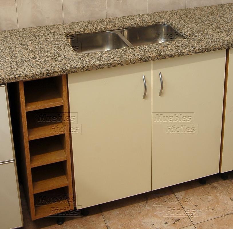 Muebles Fáciles | Productos de Cocina | Mesadas | Mesada Granito con ...